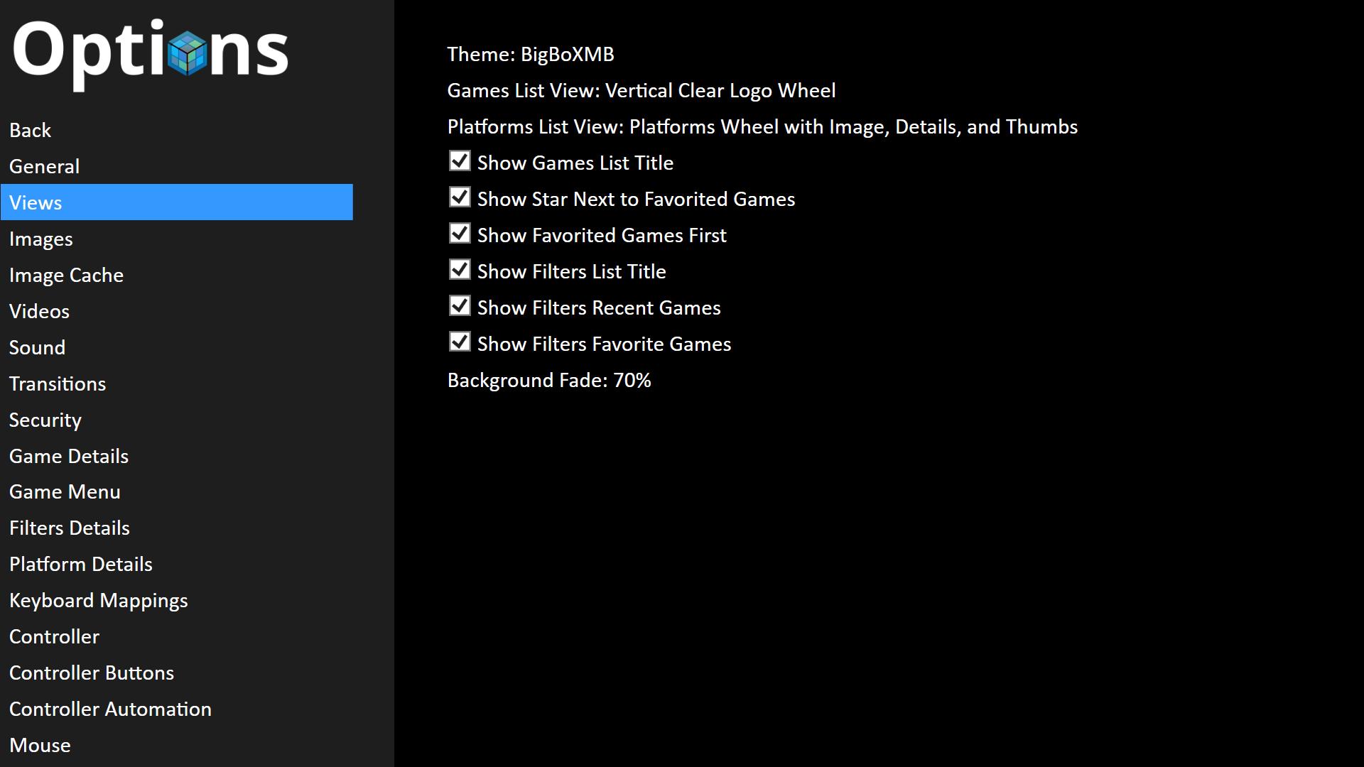 BigBoXMB - Big Box Custom Themes - LaunchBox Community Forums
