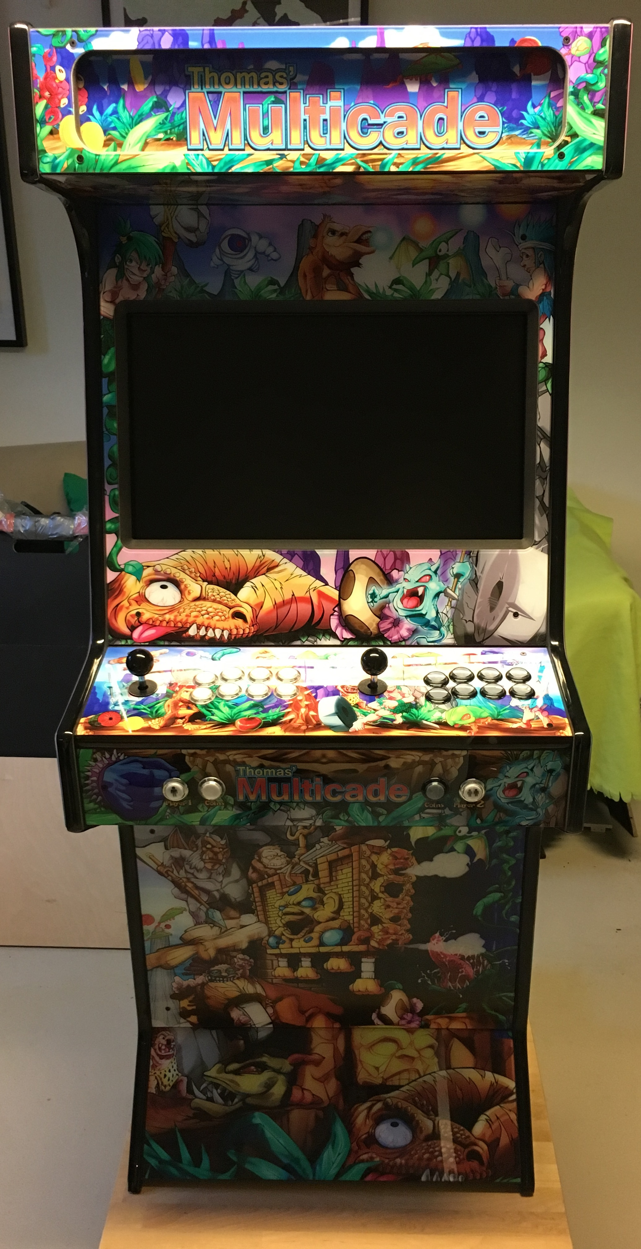 My Toki/Caveman Ninja-inspired arcade cabinet - Collections and ...
