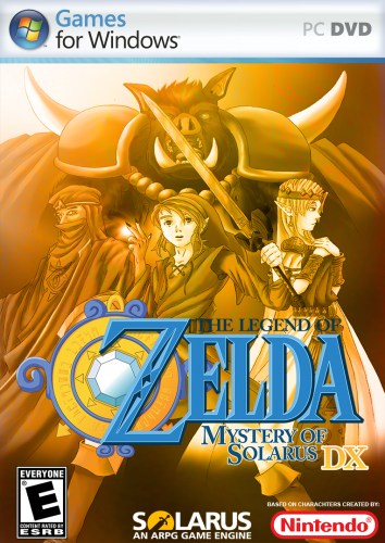 Legend of Zelda, The - Mystery of Solarus (v1.11.0) Front NTSC.png