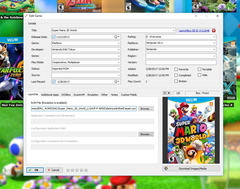 Cemu 1 7 0d Unable to open file - Troubleshooting - LaunchBox