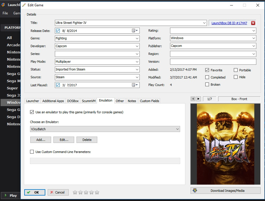 VJoy automation for Steam games - Third-Party Applications