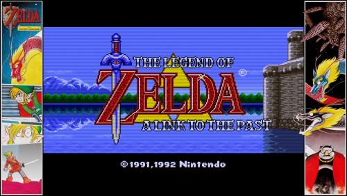 The Legend of Zelda - A Link to the Past - Bezel Overlay