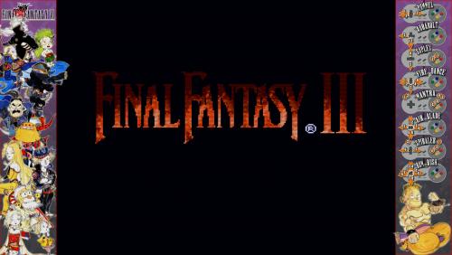 Final Fantasy VI - Bezel Overlay