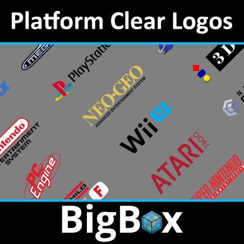 Basic - Platform Clear Logo Set