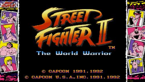Street Fighter II - Bezel Overlay