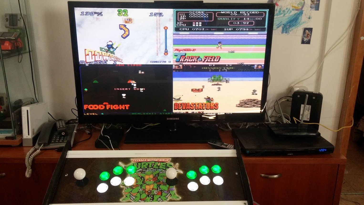 Arcade sticks working