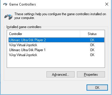 Vjoy X360ce