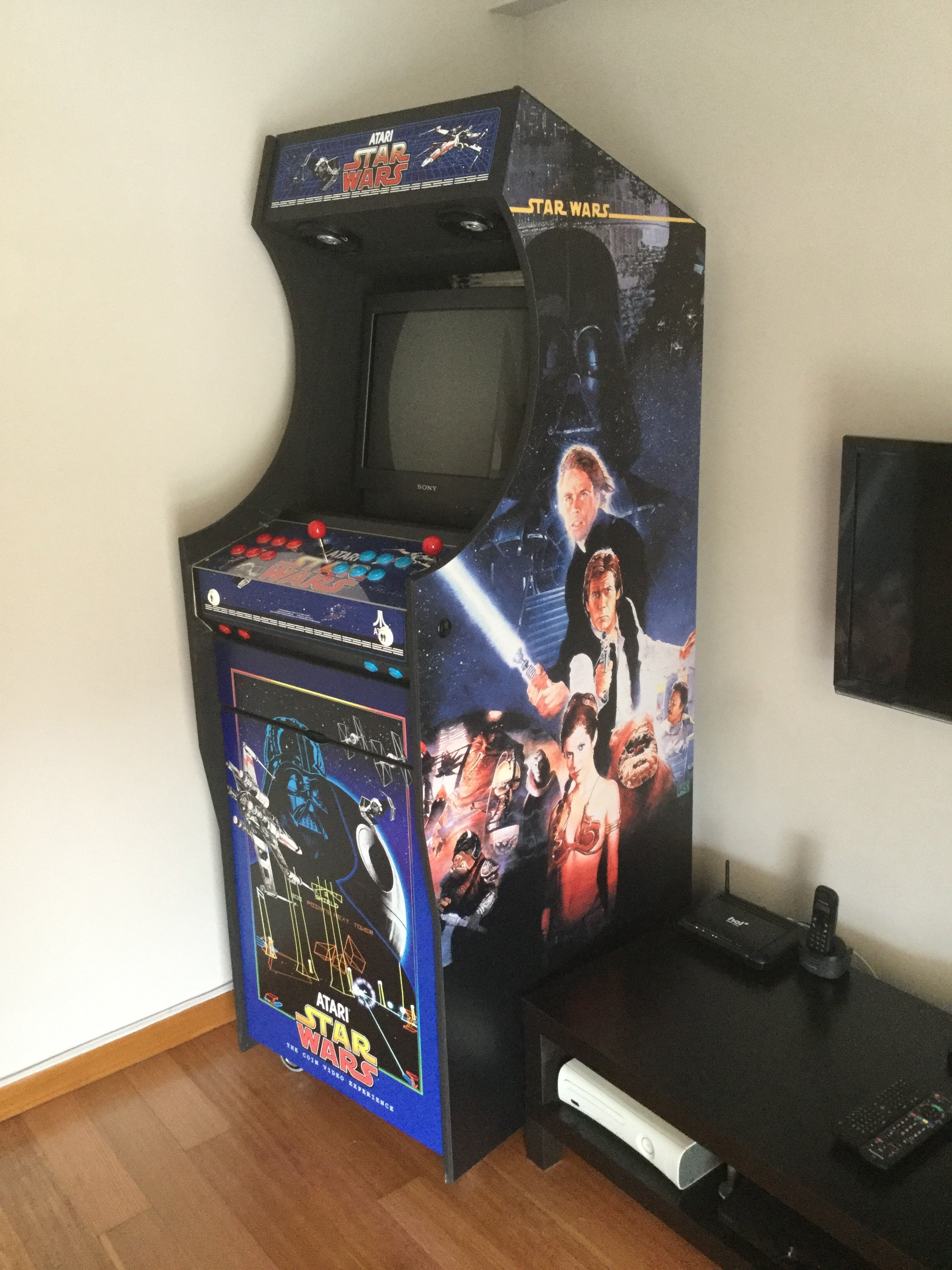 Star Wars arcade cabinet - Collections and Builds - LaunchBox ...