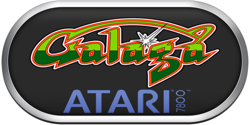 Screenshot for Atari 7800 Silver Ring Clear Game Logo Set