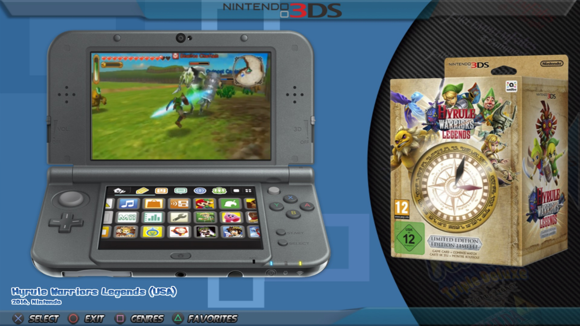 3DS and other consoles Videos uploaded to Emumovies FTP