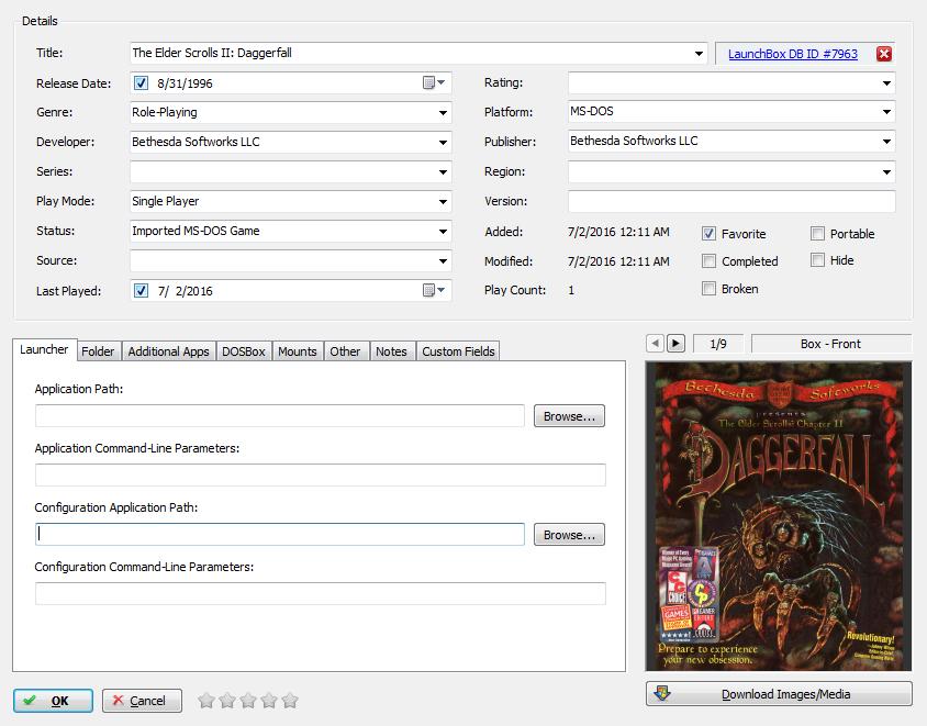 DosBox -freesize not working - DOSBox - LaunchBox Community