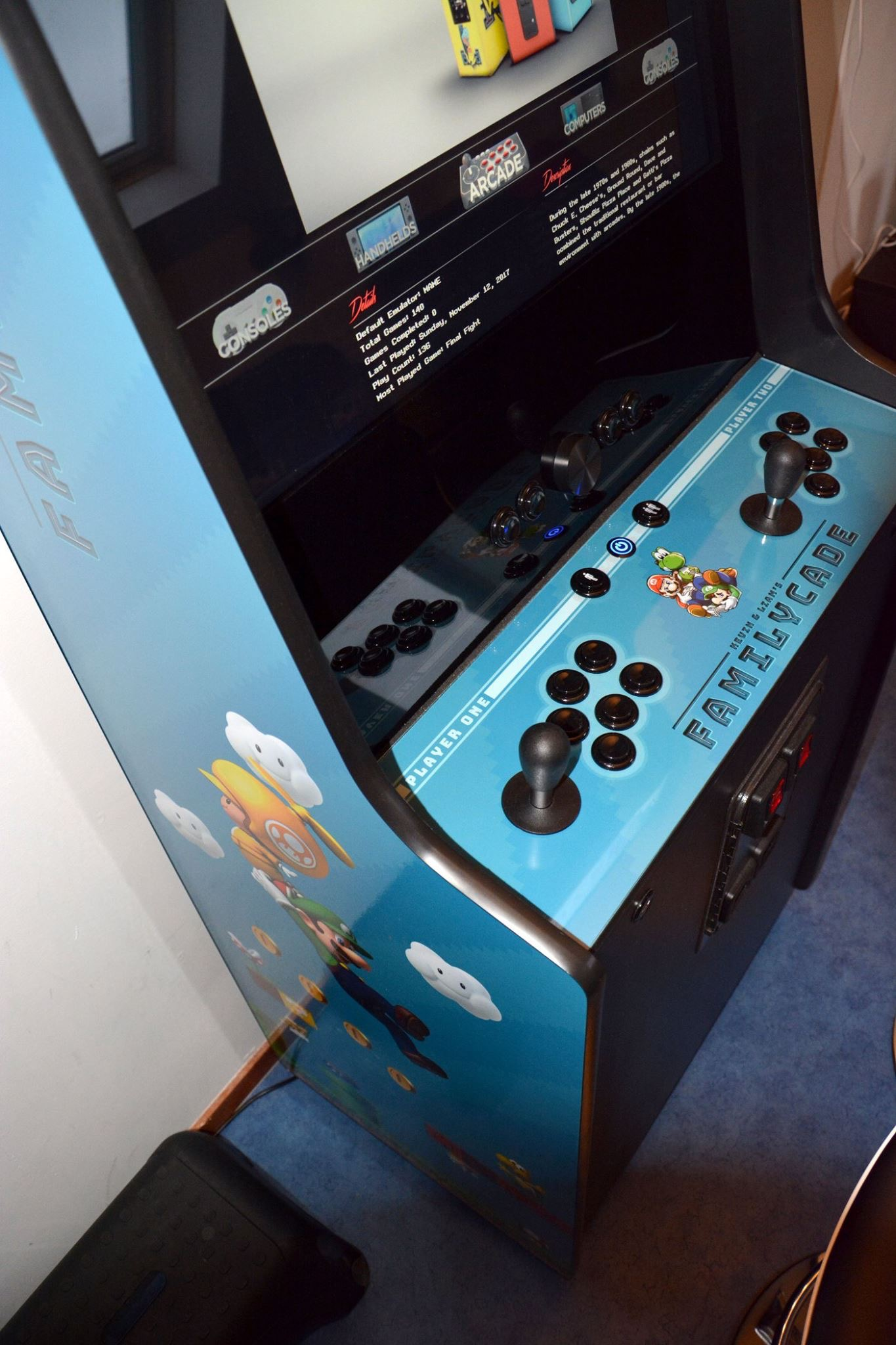 My 1st Arcade Cabinet Build Collections And Builds Launchbox