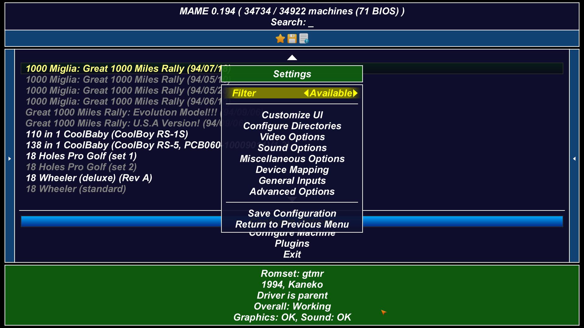 MAMEUI64 - File Organization - Need Assistance  - Emulation