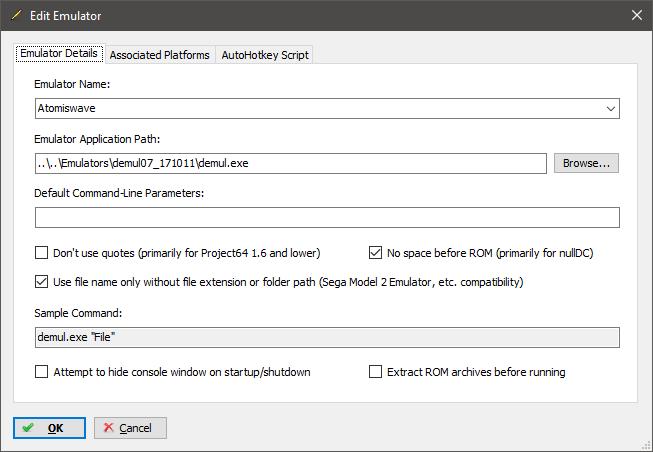 Demul : Atomiswave or Dreamcast - Emulation - LaunchBox