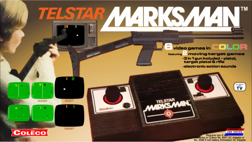 Coleco Telstar Marksman Platform Video