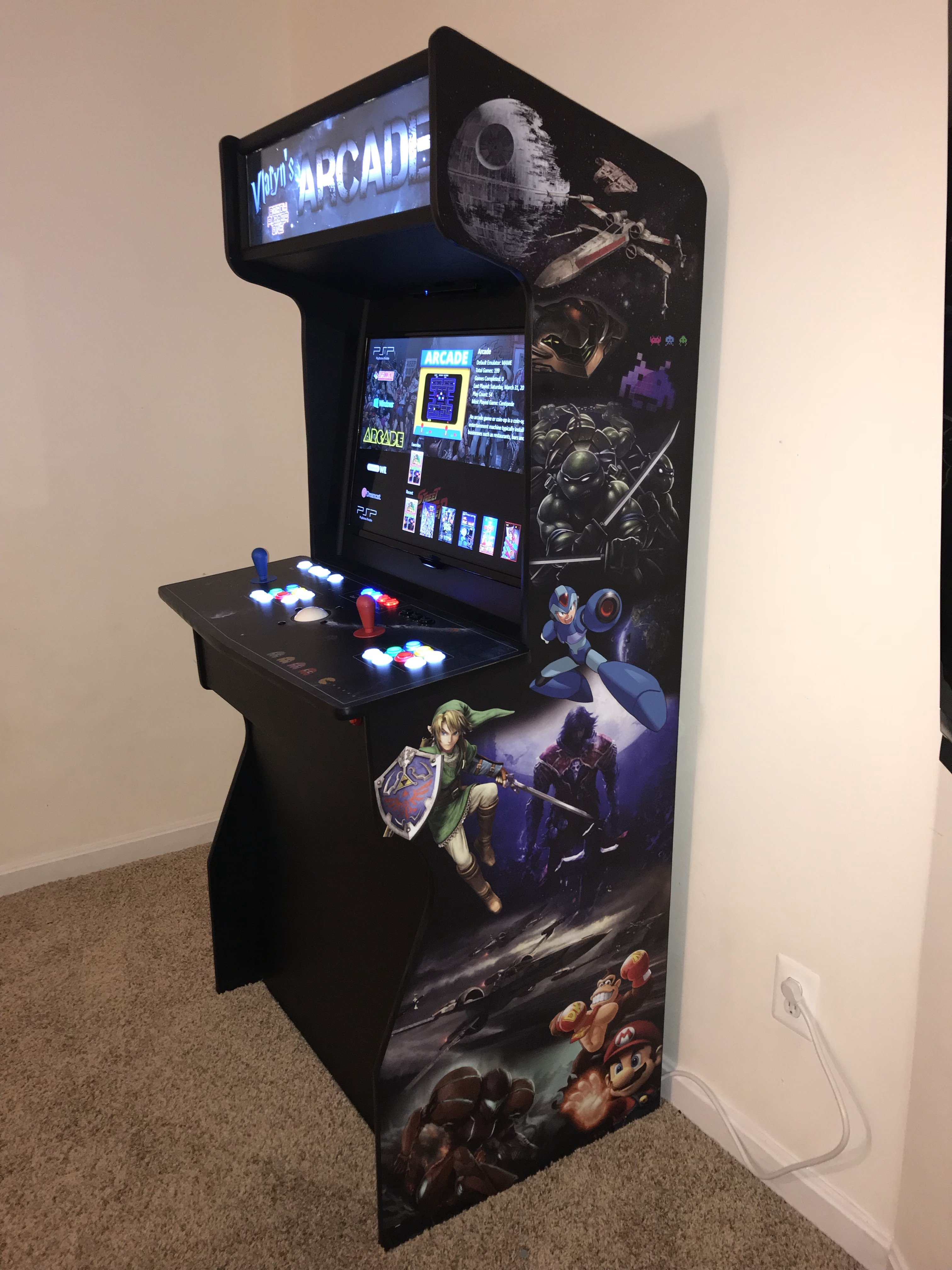 Arcade Cabinet Is Finally Done Collections And Builds