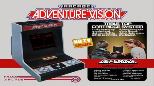 Entex Adventure Vision Platform Video