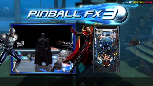 Pinball FX3 Video Set 4:3 1440x1080 Flyby Videos.