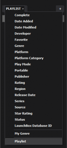 selecting playlist section.PNG