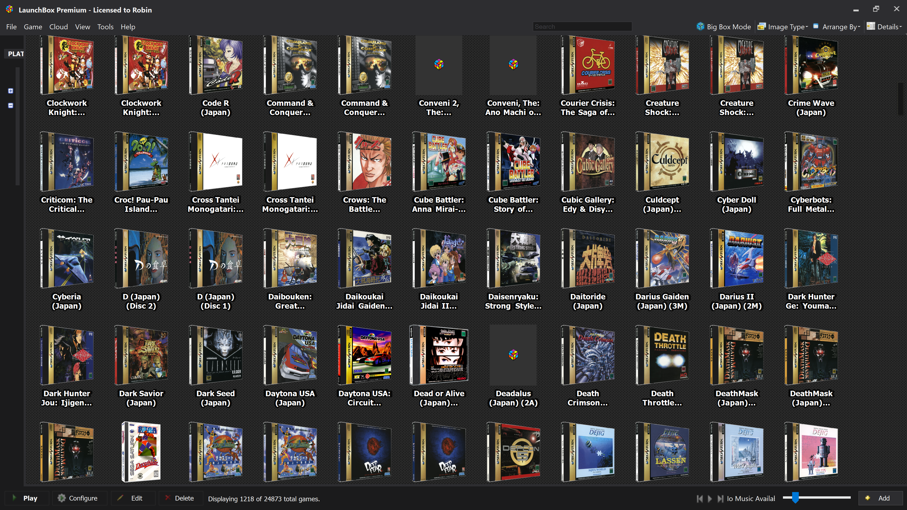 WORK IN PROGRESS - 3D Boxes for EVERY Japanese Sega Saturn Game