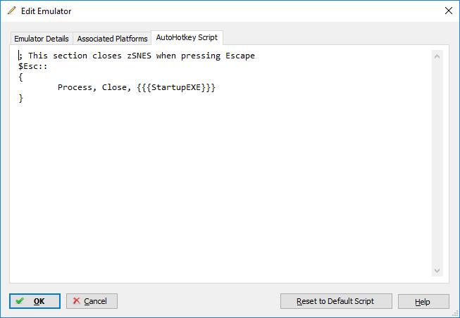 Zsnes Emulator