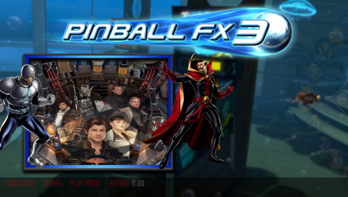 Pinball FX3 DLC Solo Video Set 4:3 1440x1080 Flyby Videos.