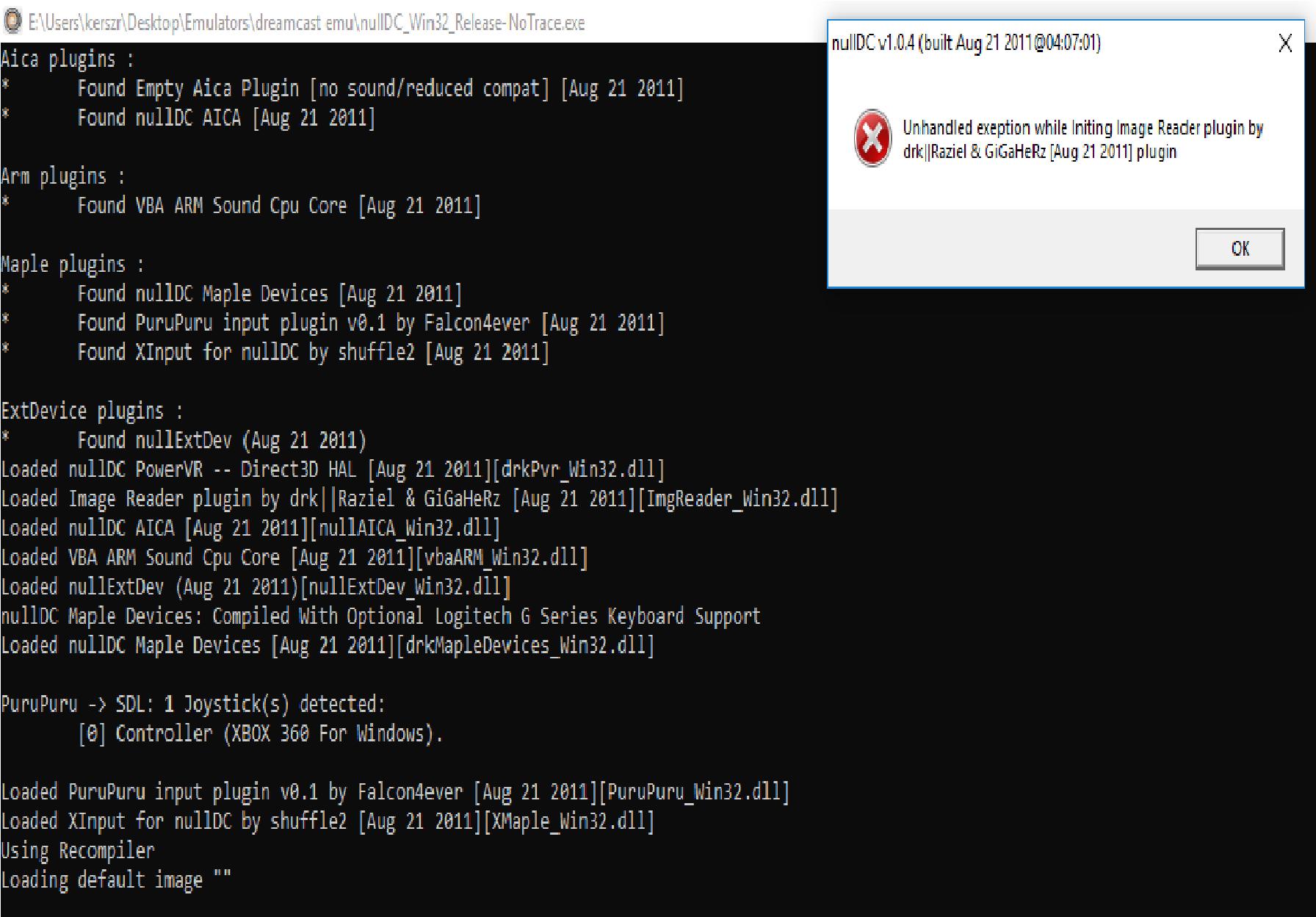 nulldc emulator windows 10