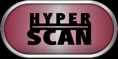 Mattel Hyperscan Silver Ring Game Clear Logos Launchbox