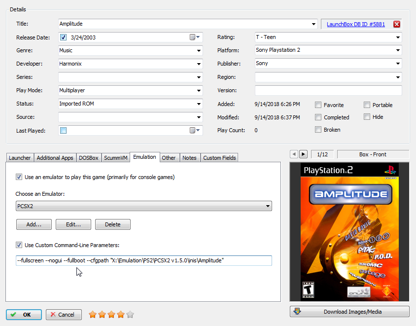 pcsx2 full screen slowdown