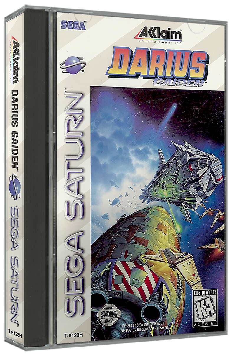 Sega Saturn USA 3D Box Pack (257) - Game Box Art - LaunchBox