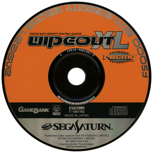 Sega Saturn Japan Disc Pack (1094)