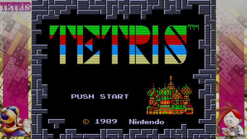 Tetris NES - Bezel Overlay