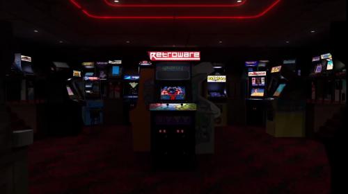 Arcade Classics Platform Theme Video