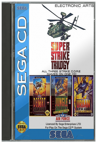 Sega Cd Usa 2d Box Pack 170 Game Box Art Launchbox