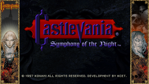 Castlevania: Symphony of the Night - Bezel Overlay