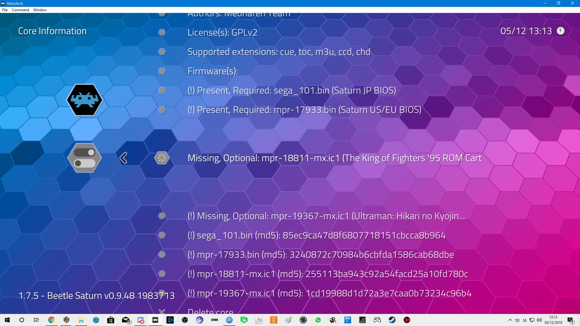 Retroarch and Mednafen - wont work - help - Emulation - LaunchBox