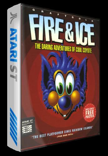 Atari ST - 3D Boxes (Biogark) - Game Box Art - LaunchBox