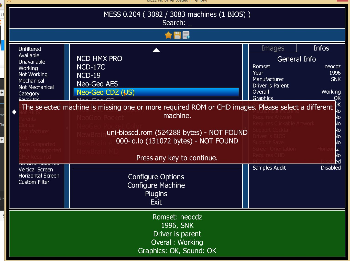 Neo Geo CD - Page 2 - Emulation - LaunchBox Community Forums
