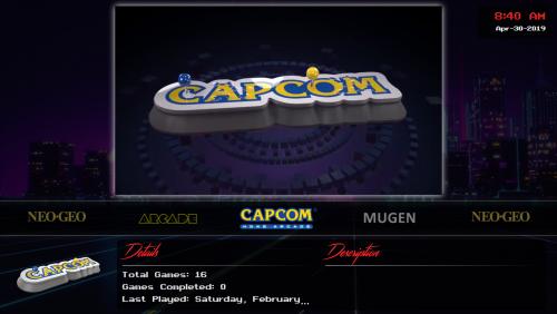 Capcom Home Arcade - Video