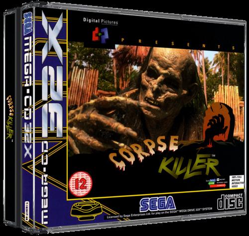 Sega Mega CD Europe 3D Box Pack (122) - Game Box Art ...