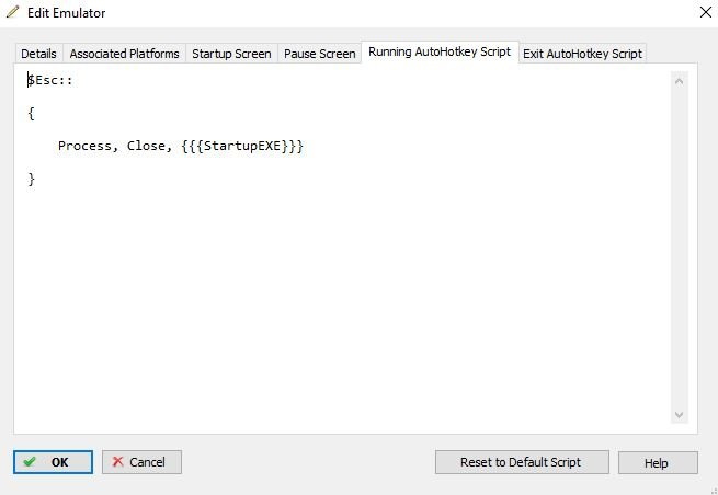 Re: Escape Key not Closing Emulator (DeSmume) - Troubleshooting