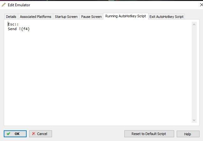 Re: Escape Key not Closing Emulator (DeSmume