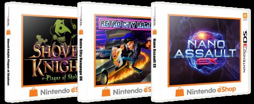 Nintendo 3DS eShop 3D Box Pack (444)
