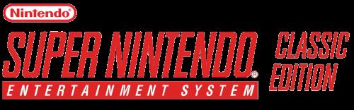 SNES Mini - Clear Logo.png
