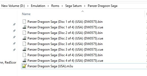 Trouble with disc swapping on sega saturn (panzer dragoon