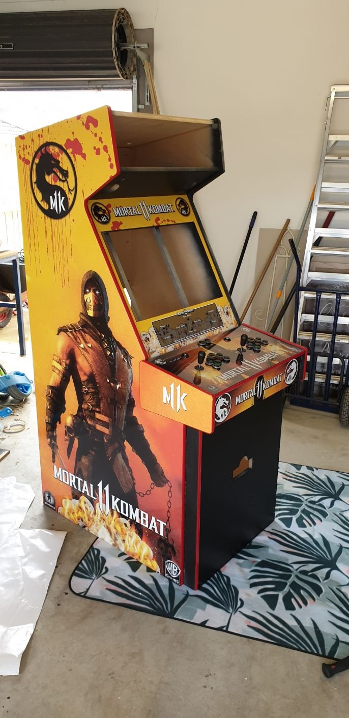 STAINLESS Mortal Kombat 11 Arcade Build - Collections and