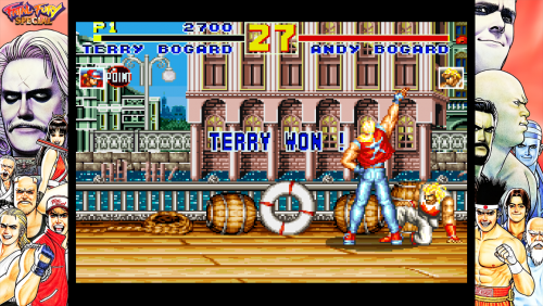 Fatal Fury Special - Bezel Overlay