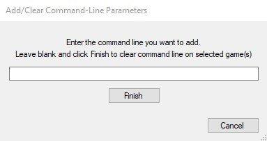 Bulk Custom Command-Line Editor - plugin