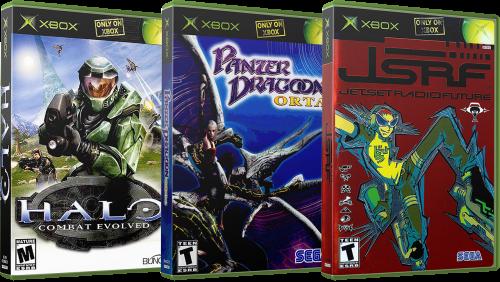 Original Microsoft Xbox 3D Box Pack (985)