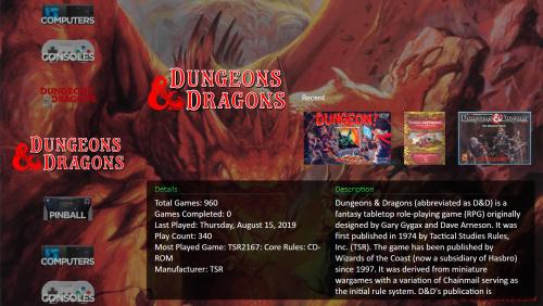 Dungeons & Dragons Manuals & Modules Platform
